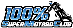 100% Supermotard Club Logo