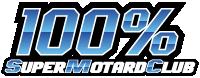100% Supermotard Club Logo